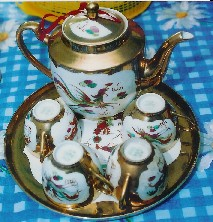 wedding tea set cir 1960-70s.