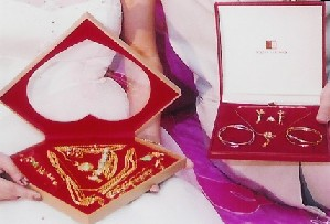 bride's dowry- wedding jewellery