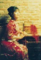 bride in chinese wedding costume