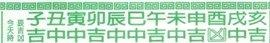 chinese-calendar- auspicious timing